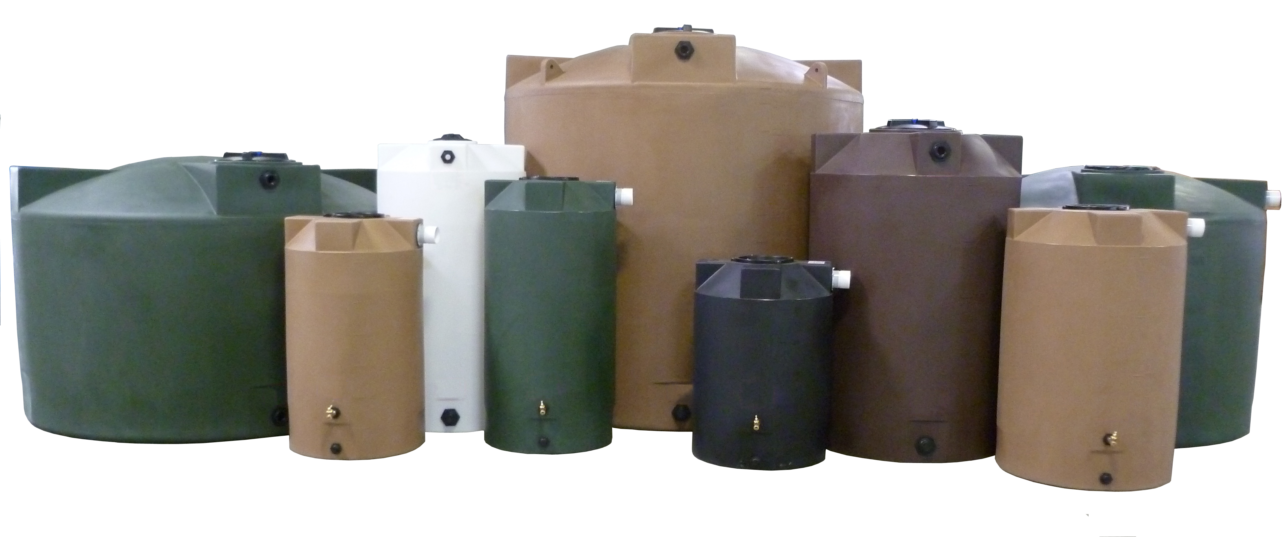 Fiberglass Storage Tanks Chemical